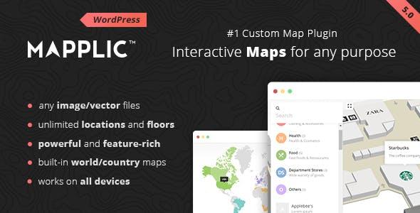 Mapplic - Custom Interactive Map WordPress Plugin by sekler | CodeCanyon