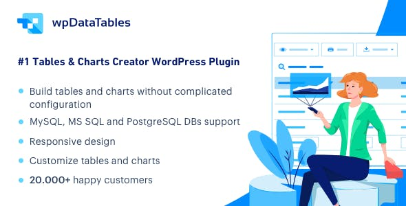 wpDataTables - Tables and Charts Manager for WordPress by tms-plugins