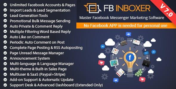 EZ Inboxer - Master Marketing Software for Facebook by xeroneitbd