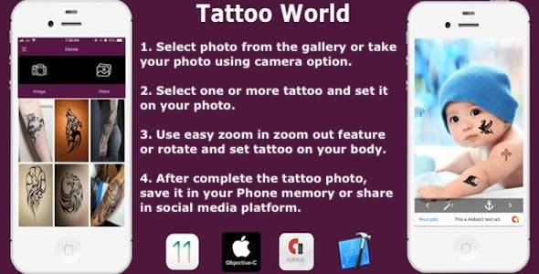 Tattoo World Free Download | Envato Nulled Script | Themeforest and
