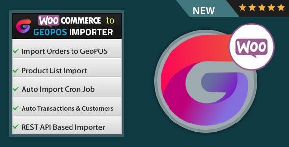 WooCommerce to Geo POS Importer