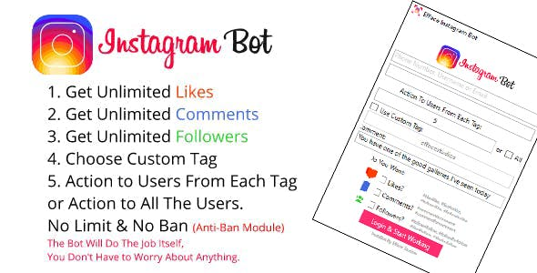 instagram bot Free Download | Envato Nulled Script | Themeforest and