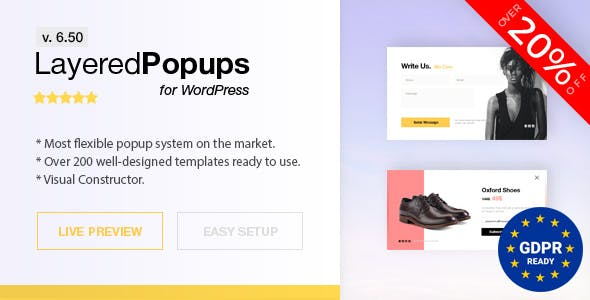 Popup Plugin for WordPress - Layered Popups - CodeCanyon Item for Sale 8b97f9cf813