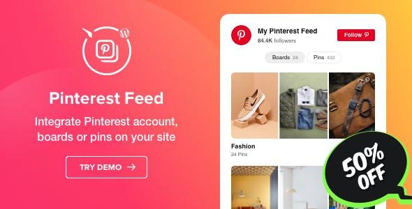 Pinterest Feed - WordPress Pinterest plugin
