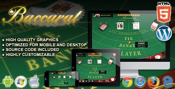Baccarat - HTML5 Casino Game
