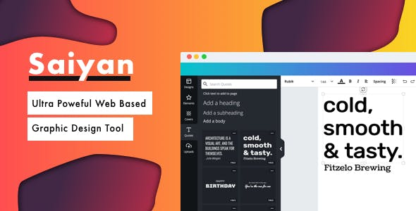 Saiyan Image Editor