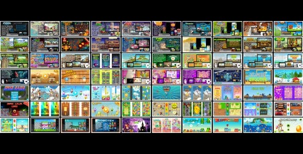 70 HTML5 GAMES!!! SUPER BUNDLE №3 (Construct 3   Construct 2   Capx)