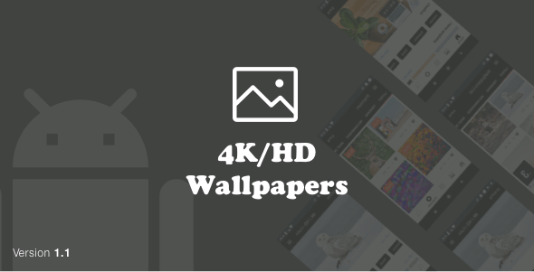 4K/HD Wallpapers Android (Google Material Design + Admob + Firebase Push Noti + PHP Backend) 1.1 Nulled  23378221