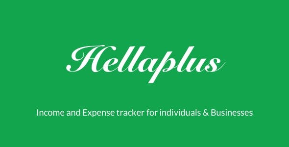 Hellaplus | Income and Expense Tracker for Individuals & Businesses