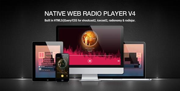 Native Web Radio Player Plugin