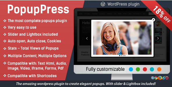 Popup Press - Popups with Slider & Lightbox for WordPress by CodexHelp