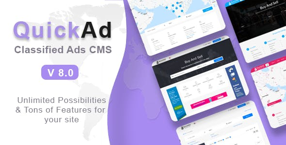 Classified Ads CMS