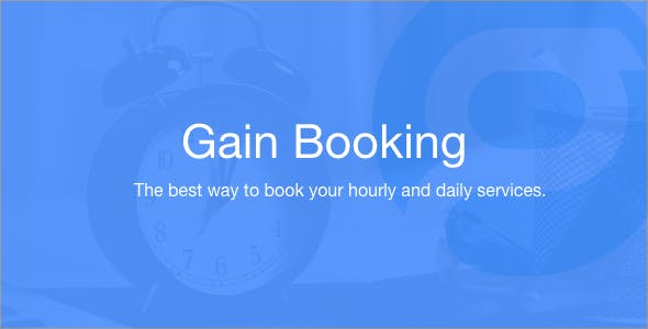 Gain Booking
