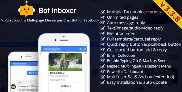 Bot Inboxer - A EZ Inboxer Add-on : Multi-account & Multi-page