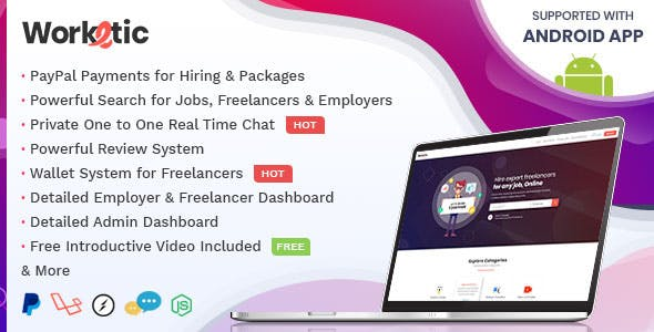 Worketic - Market Place for Freelancers