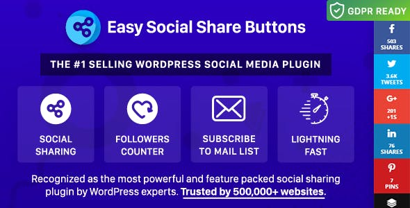 Easy Social Share Buttons for WordPress by appscreo   CodeCanyon