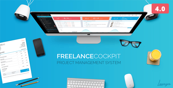 Freelance Cockpit 3 - Project Management and CRM by Luxsys
