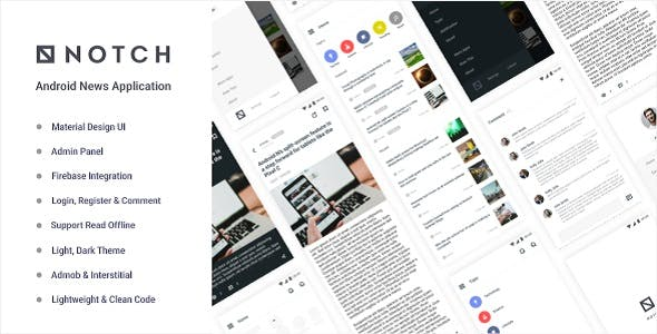 2019's Best Selling Android App Templates