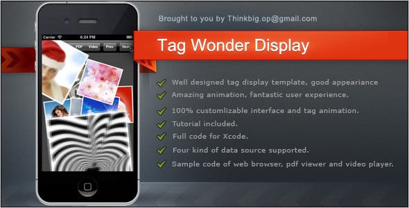 Make A General Template App With Mobile App Template
