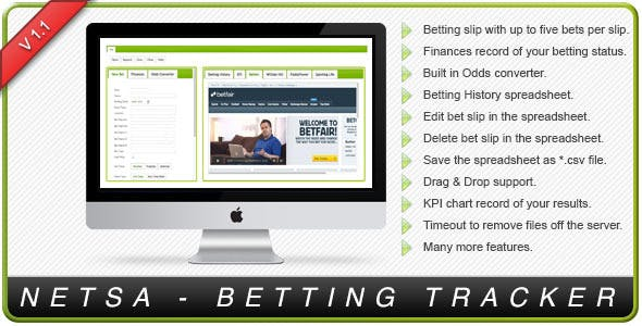 Betfair, Betting, and Each Way PHP Script from CodeCanyon