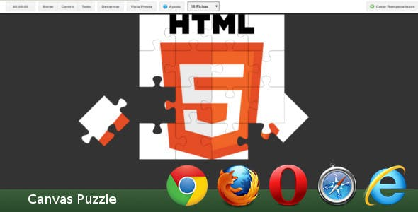 Puzzle HTML5 Plugins, Code & Scripts from CodeCanyon