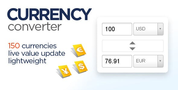 Currency Converter Script Codecanyon Item For