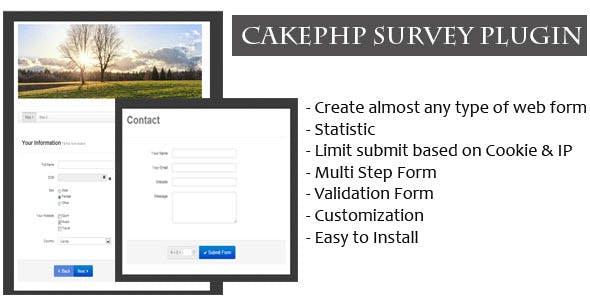 survey generator plugins code script from codecanyon