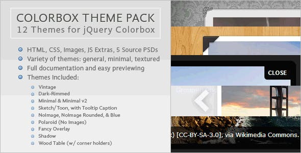 Colorbox Theme Pack