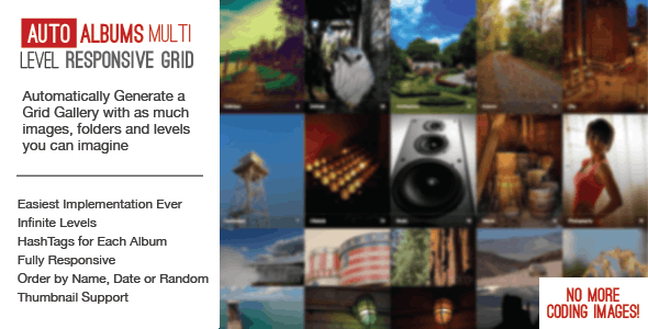 Auto Photo Albums – Multi Level Image Grid by castlecode