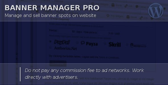 6b308b24d47571 Banner Manager for WordPress - CodeCanyon Item for Sale