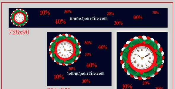 Whats Clock Edge Animate Template from CodeCanyon