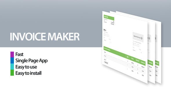 pdf invoice maker plugins code script from codecanyon