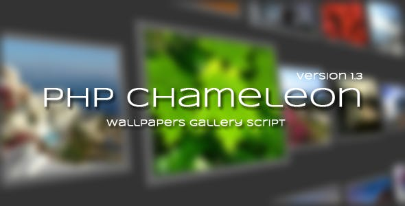 PHP Wallpapers Script From CodeCanyon