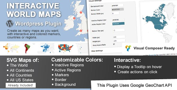 Interactive World Maps by cmoreira | CodeCanyon