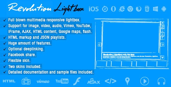Revolution Lightbox by FWDesign | CodeCanyon